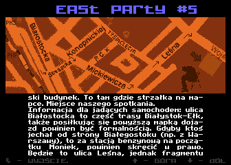 East Party #5 Invitation