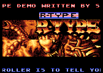 The R-Type Demo